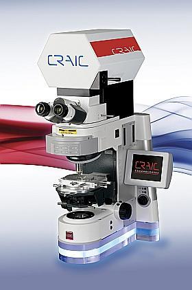 CRAIC Technologies Microspectrophotometer Hardware